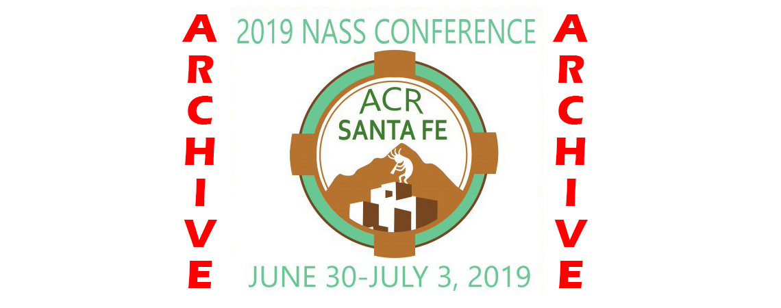 2019 Summer Conference ~ Archive